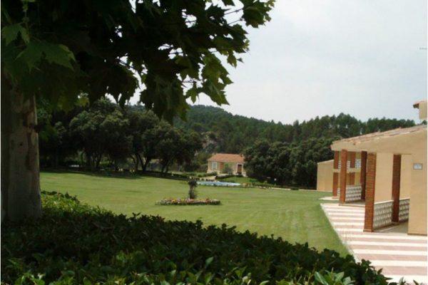 Jardines en Balneario de Cuenca